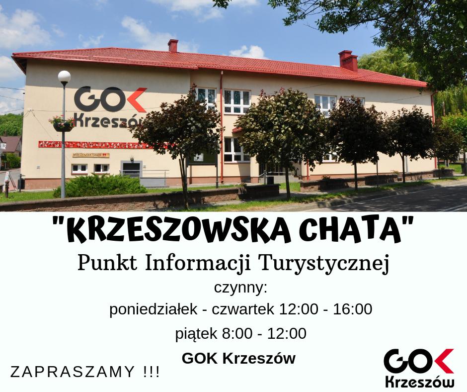 """""""Krzeszowska Chata"""" – Punkt Informacji Turystycznej"""