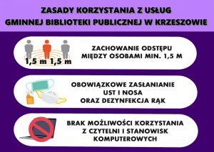 Funkcjonowanie biblioteki do 9.04.2021 r.