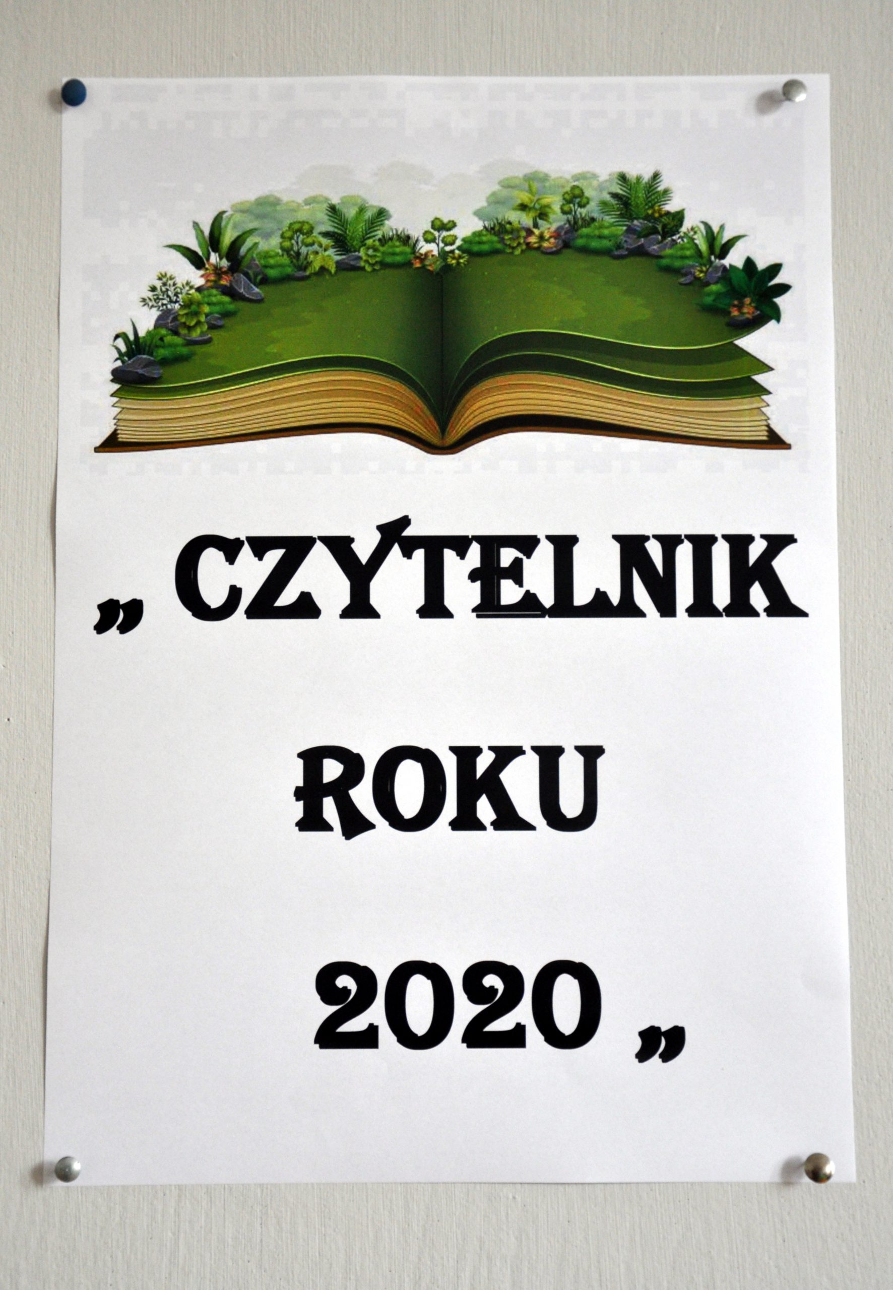 CZYTELNIK ROKU 2020