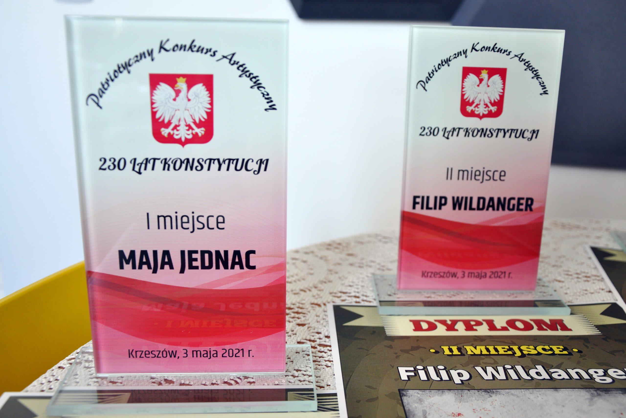 Nagrody dla laureatów Patriotycznego Konkursu Artystycznego