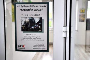 """24. OGÓLNOPOLSKI PLENER MALARSKI - """"KRZESZÓW 2021"""" OFICJALNIE ZAKOŃCZONY"""